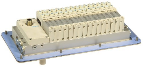 573606, VRPT-B1T-G18B-DTB-M7SU-16VK+TTSC Ventieleiland VTUG-10 met Pneumapole-L VRPT-B1T-G18B-DTB-M7SU-16VK+TTSC