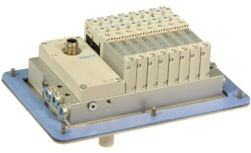 573606, VRPT-B1T-G18B-DTB-M7SU-8VK+TTSC ventieleiland VTUG-10 met Pneumapole-L VRPT-B1T-G18B-DTB-M7SU-8VK+TTSC