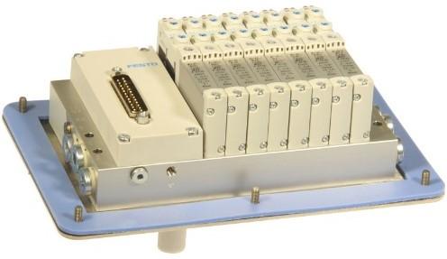 573606, MSDR-B1T-25V20-G18B-DTB-M7SU-8VK+M1TTSC Ventieleiland VTUG-10 met Pneumapole-L MSDR-B1T-25V20-G18B-DTB-M7SU-8VK+M1TTSC