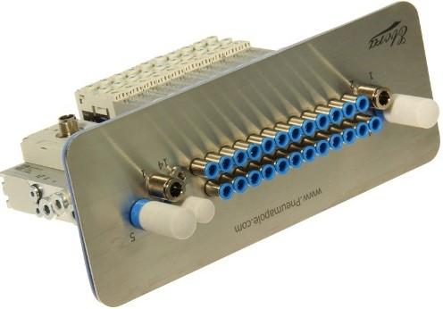 573606, VRPT-B1T-G18FD-DTFD-M7SFD-12VK+TTSC Ventieleiland VTUG-10 met Pneumapole-S VRPT-B1T-G18FD-DTFD-M7SFD-12VK+TTSC
