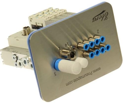573606, VRPT-B1T-G18FDL-DTFDL-M7SFD-4VK+TTSC Ventieleiland VTUG-10 met Pneumapole-S VRPT-B1T-G18FDL-DTFDL-M7SFD-4VK+TTSC