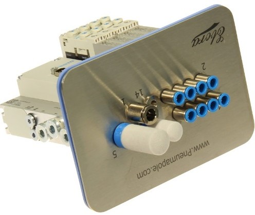 573606, MSDR-B1T-25V20-G18FDL-DTFDL-M7SFD-3VKL+M1TTSC ventieleiland VTUG-10 met Pneumapole-S MSDRB1T25V20G18FDLDTFDLM7SFD3VKL+M1TTSC