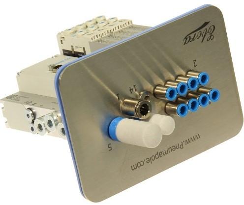 573606, MSDR-B1T-25V20-G18FDL-DTFDL-M7SFD-VK3L+M1TTSC ventieleiland VTUG-10 met Pneumapole-S MSDRB1T25V20G18FDLDTFDLM7SFDVK3L+M1TTSC