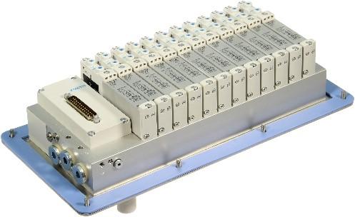 573606, MSDR-B1T-25V20-G14B-DTB-G18SU-12VK+M1TTSC Ventieleiland VTUG-14 met Pneumapole-L MSDR-B1T-25V20-G14B-DTB-G18SU-12VK+M1TTS