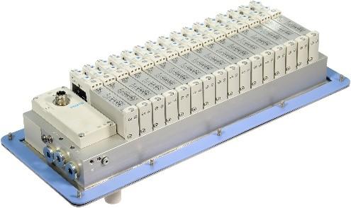 573606, VRPT-B1T-G14B-DTB-G18SU-16VK+TTSC Ventieleiland VTUG-14 met Pneumapole-L VRPT-B1T-G14B-DTB-G18SU-16VK+TTSC