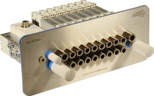 573606, VRPT-B1T-G14FD-DTFD-G18SFD-8VK+TTSC Ventieleiland VTUG-14 met Pneumapole-S VRPT-B1T-G14FD-DTFD-G18SFD-8VK+TTSC
