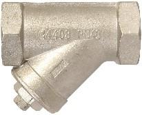 0306105301200BSP Y-filter RVS PN100 1/2 BSP
