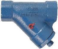 0206505305400BSP Y-filter Staal PN100 1-1/4 BSP