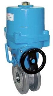 EBZK311004-NE054100 Kogelafsluiter-ZK, DN25 met aandrijving-NE05