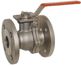 EBZP311011 Kogelafsluiter DN125 PN16 RVS1.4408/PTFE-FKM