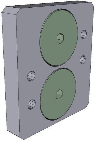 199190275 Namurconnectingplate,ForpneumaticactuatorstypePA30-PA55andPA11/21
