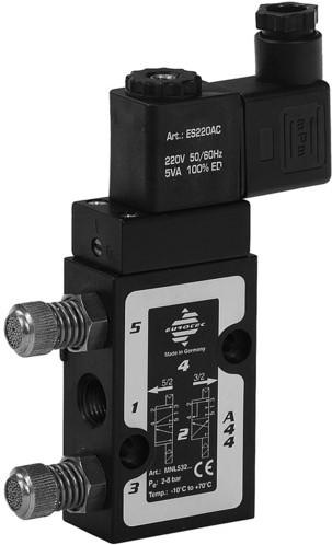 199190357 Magneetventiel5/2wegAL/NBR