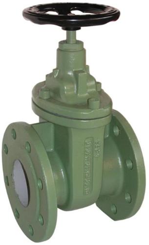 EBCA501411 Schuifafsluiter DN125, PN10, DIN3352-2B