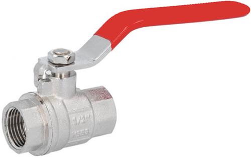 "EBCB111023 Kogelafsluiter 1/2"", PN30, Messing/PTFE-NBR"
