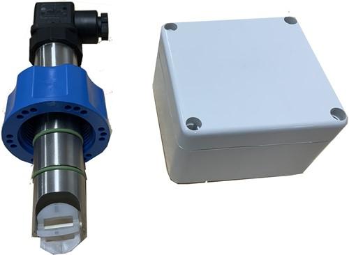 RVS316L/EPDM  paddelwiel flowsensor IP65 4..20 mA voor extreem lage temperaturen