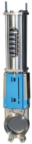 EBWGE-SS-PTFE/EPDM-200/PSNC Plaatafsluiter DN200 RVS Enkelwerkend NC