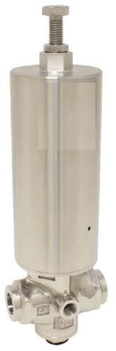EBDK340306374 RVS Membraan-drukreduceer met laaansl.25mm EPDM dichting