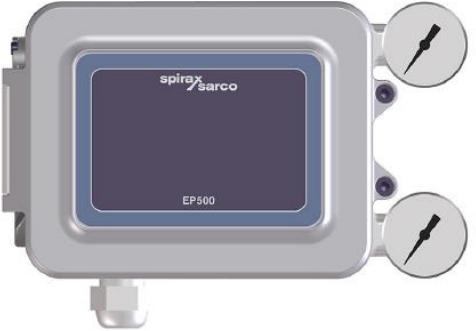 Spirax Sarco Elektro-pneumatische klepstandsteller EP500S
