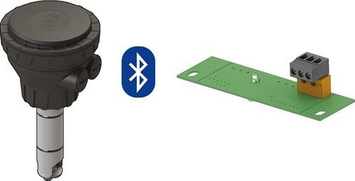 F3.00.W.17.WB Paddlewheel Wireless Flow Sensor (B.L.E.)