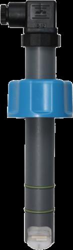 DF170.212.02 Peddelwiel flowsensor DF170.212.02 PVC/FPM met pulsuitgang NPN, IP68 Coil versie