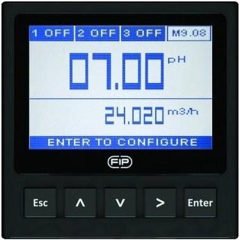FLS M9.08 Dubbele parameter pH/ORP en flow monitor