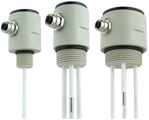 GPP conductieve niveausensor PPH met RVS electroden en M12 connector