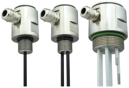 GVA conductieve niveausensor RVS met RVS electroden en wartelaansluiting