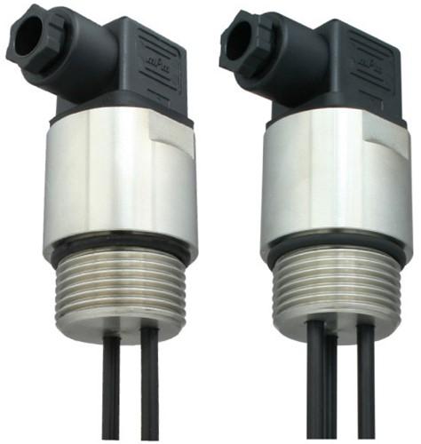 GVA conductieve niveausensor RVS met RVS electroden en ventielsteker