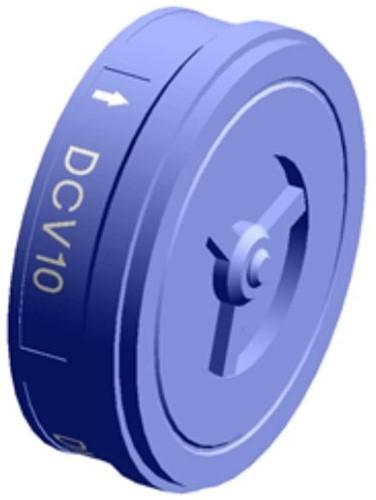 Spirax Sarco Centraal geleide schijfterugslagklep DCV10 / DCV10C