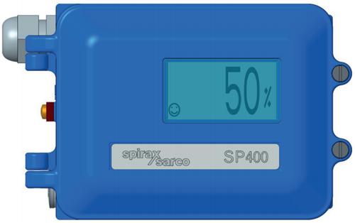 Spirax Sarco Elektropneumatische intelligente klepstandsteller SP400