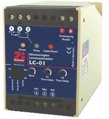 LC-01 Instelbare niveauschakelaar voor conductieve sonden