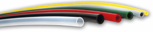 PUR C98 10x8 (7,7) mm zwart/m, 3043 Polyester-Polyurethan PUR luchtslang