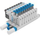 Festo manifold-montage VTUG, met individuele elektrische aansluiting