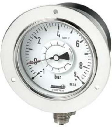 Hengesbach Drukverschilmanometer met buisveermeter - Type DIR ... -