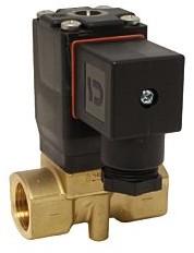 EBMBMG2Z311663008 RVS 2/2-magneetventiel G1/4 NC rvs/nbr 230VAC