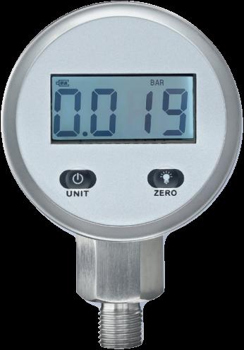 Digitale manometers Type ETD-10, klasse 1.0
