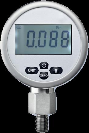 Digitale manometers Type ETD-11, klasse 0.4