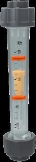 215342 PVC-U /PVC-U Doorstroommeter DFM170 40-400 l/h d20 Sok EPDM Magneet