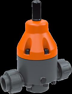 148802 PVC-U Drukreduceerventiel DMV755 d40 PN10 FPM Sok