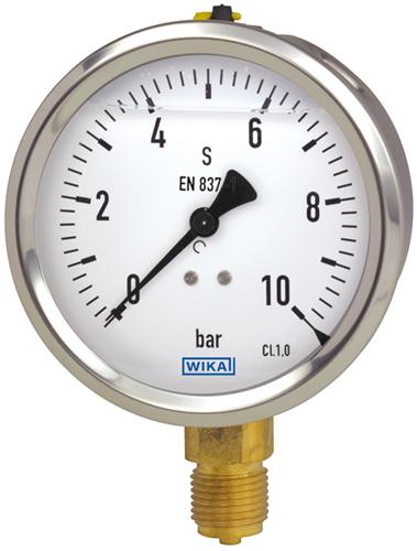 Wika Liquid filled gauge Model 213.53