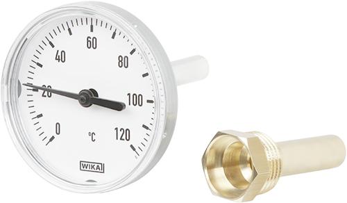 Wika Model A43 Bimetal thermometer