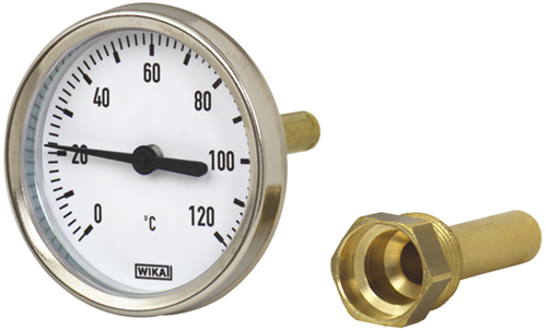 Wika Model 46 Bimetal thermometer