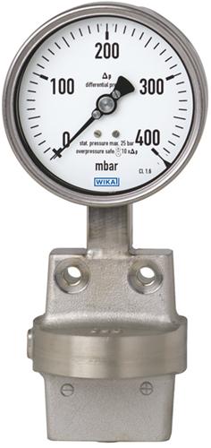Wika Differential pressure gauge Model 732.51