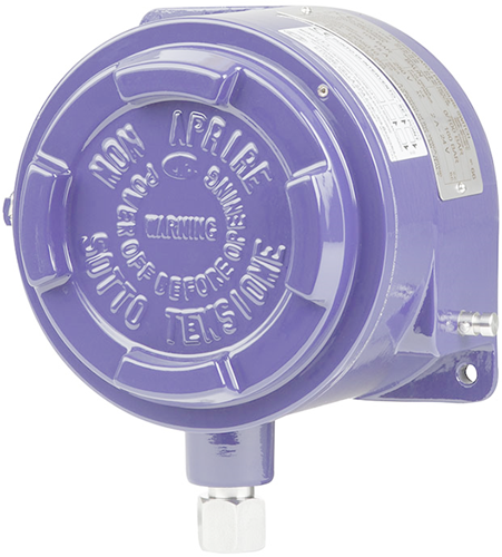 Wika Bourdon tube pressure switch Models BA, BAX