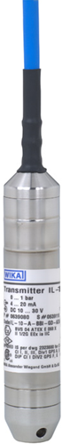 Wika Intrinsically safe submersible pressure transmitter Model IL-10