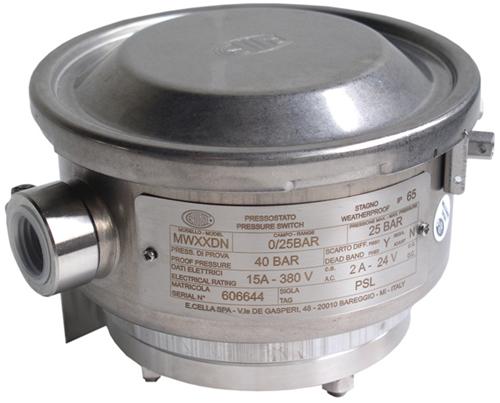 Wika Model MW Diaphragm pressure switch