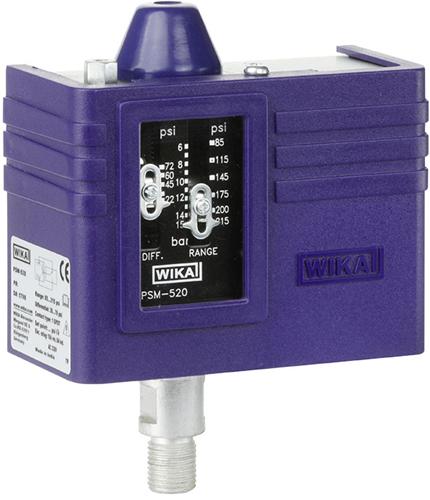 Wika Pressure switch, heavy-duty version Model PSM-520