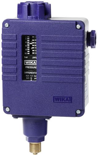 Wika Pressure switch, heavy-duty version Model PSM-550