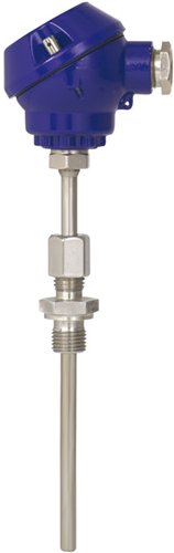 Wika Model TC10-D Threaded thermocouple