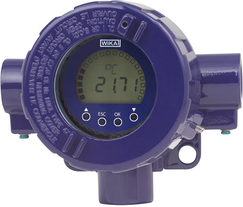 Wika Models TIF50, TIF52 HART® field temperature transmitter